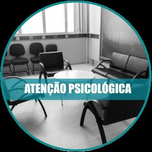 Atenção psicológica: Imagem da sala de atendimento da clínica intercultural.