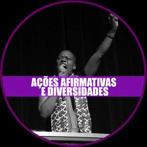 Ações afirmativas e diversidades: Registro de Graça Samo, moçambicana e coordenadora da Marcha Mundial de Mulheres.
